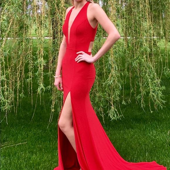 97139082ce Sherri Hill red dress 51806. M 5c7b339404e33d07d95ada81. Other Dresses you  may like. Sherri Hill Prom Dress